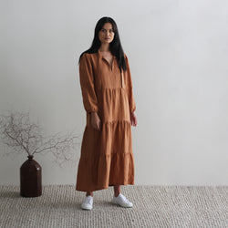 Belle Dress - Cinnamon