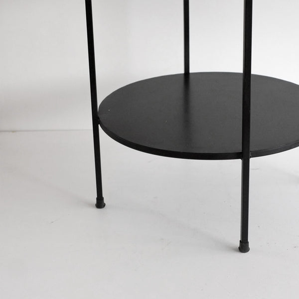 Aged Iron Benny Table - Black