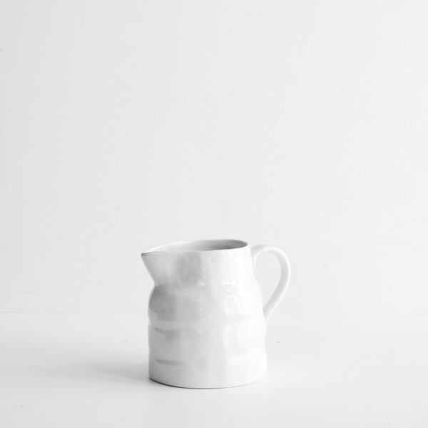 Benoir Large Jug - White