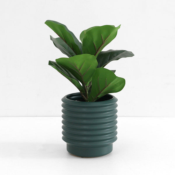 Medium Berlin Planter - Teal