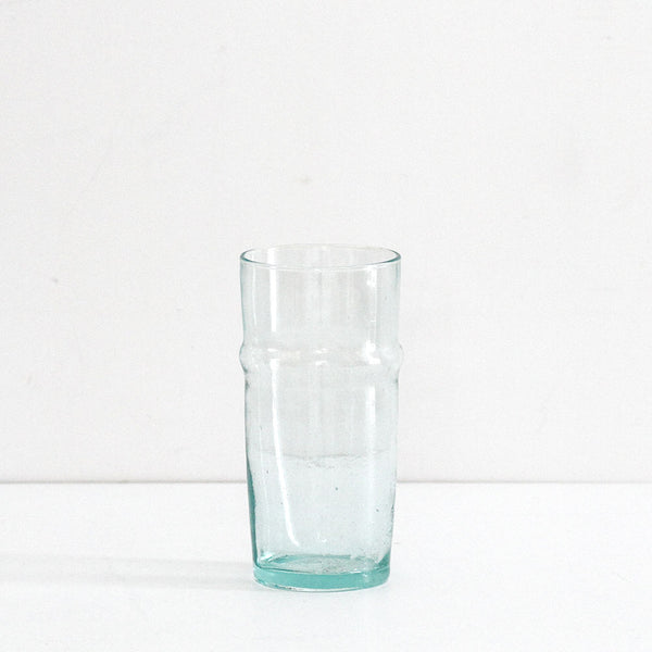 Traditional Clear Glass Vase - Medium