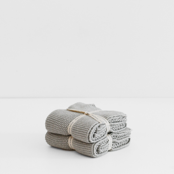 Hand Towel Pale Grey (Set of 2)