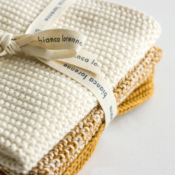 Soft Washer Cloths Ochre
