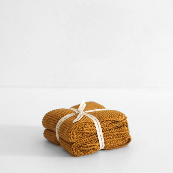 Hand Towel Ochre (Set of 2)