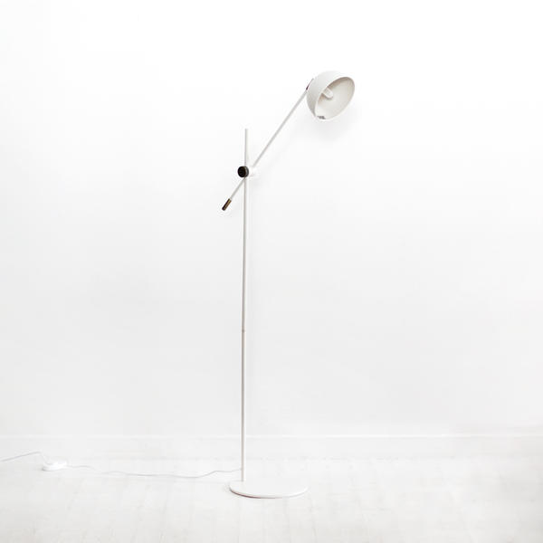 Blair Floor Lamp - Warm Grey