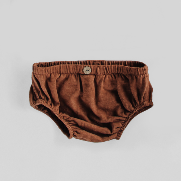 Button Bloomers - Russet