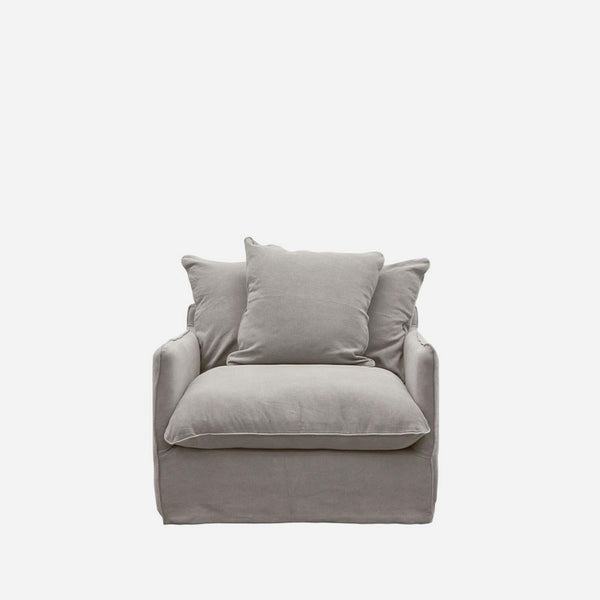 Boston Armchair - Cement