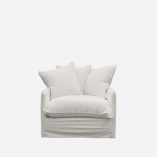 Boston Armchair - White