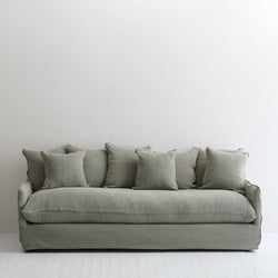 Boston Slipcover Sofa - Khaki