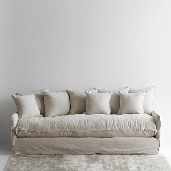 Boston Four Seat Sofa - Oatmeal