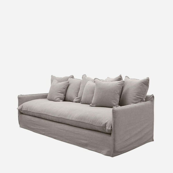 Boston Four Seat Sofa - Cement