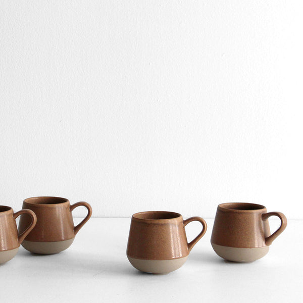 Bottoms Up Mug (Set of Four) Suede