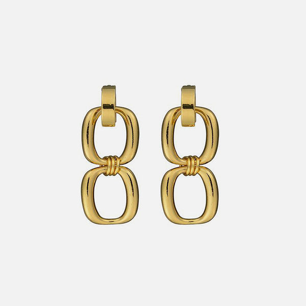 Enlazar Earrings - Gold