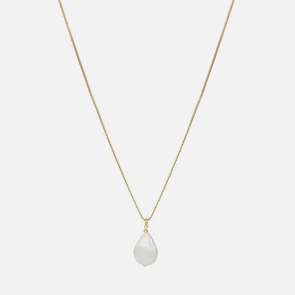 Fresh Pearl Pendant - Gold