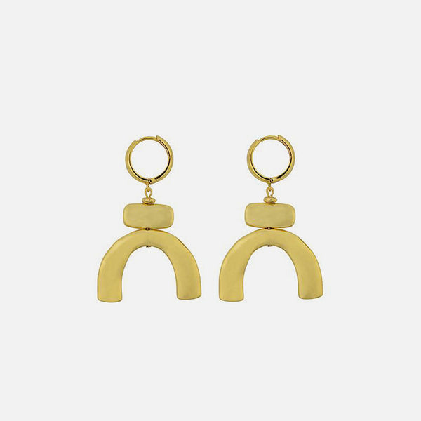 Lampara Earrings - Gold