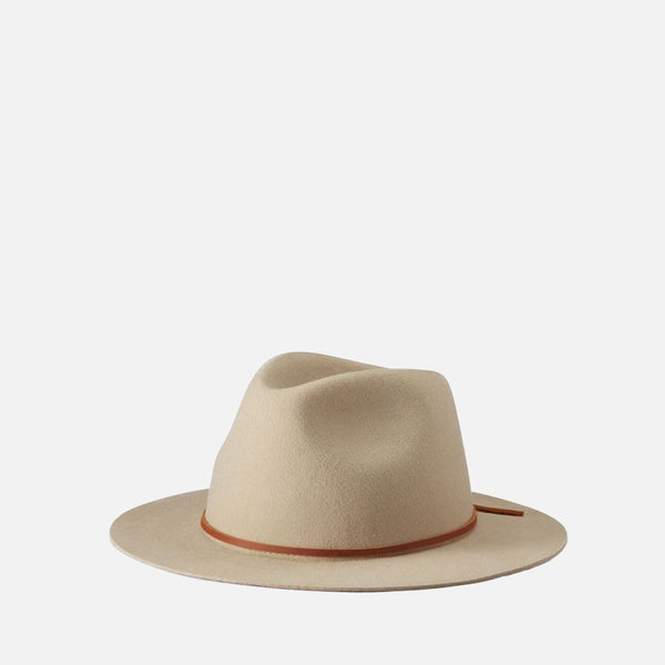 Wesley Fedora - Light Tan