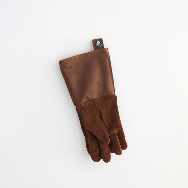 Brut Leather BBQ Gloves