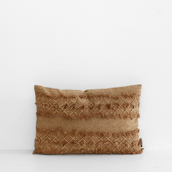 Bulan Cushion - Rust