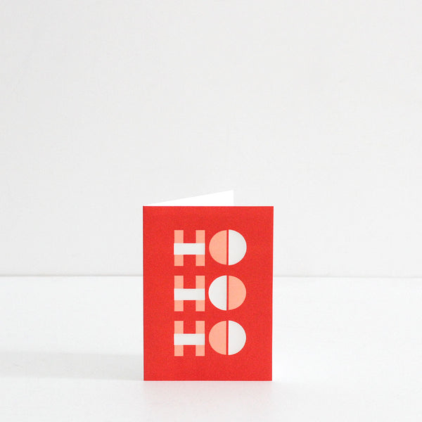 Ho Ho Ho Optical Card