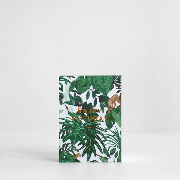 Jungle Happy Birthday Card