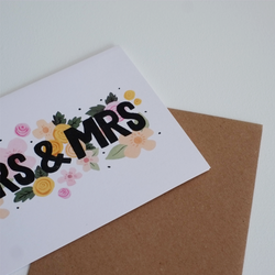 Mrs and Mrs Card
