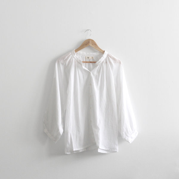 Charlotte Long Sleeve Blouse - Off White