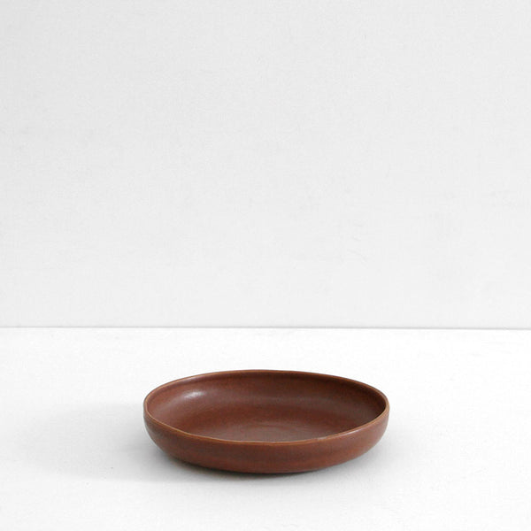 Milu Small Serving Bowl - Eggplant