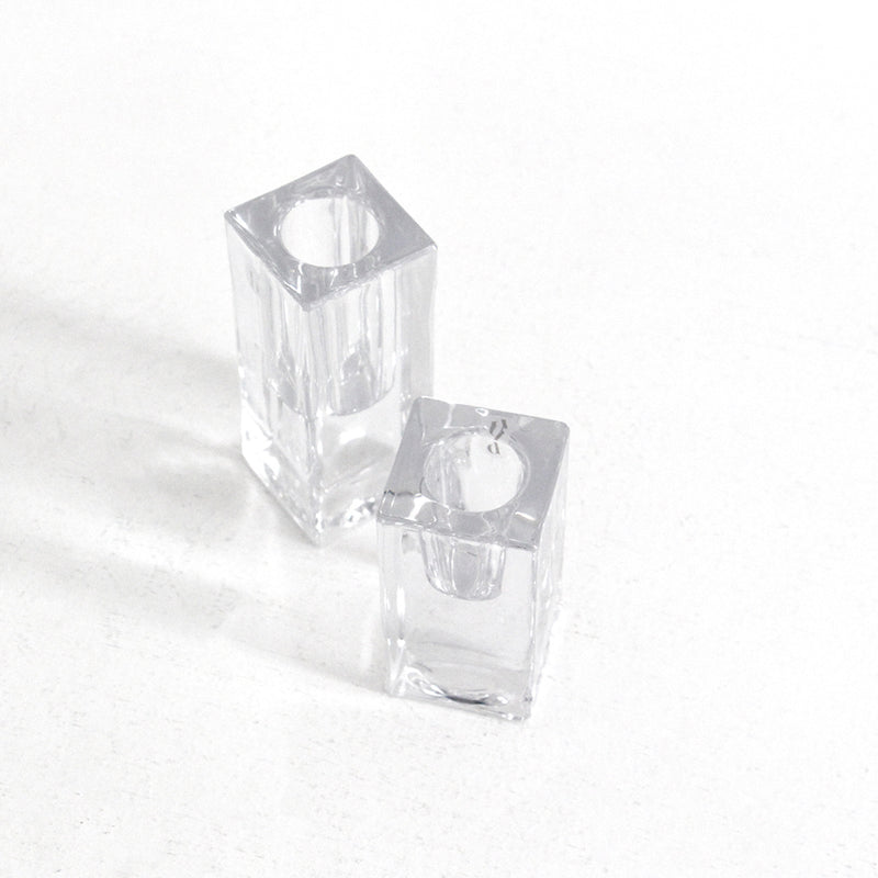 Classic Candleholder Large - Clear