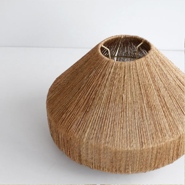 Jute Corn Lamp shade