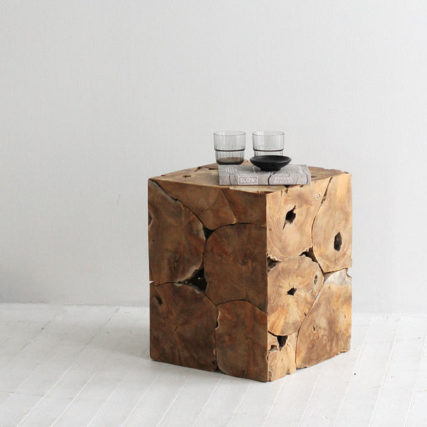 Columbus Slab Side Table