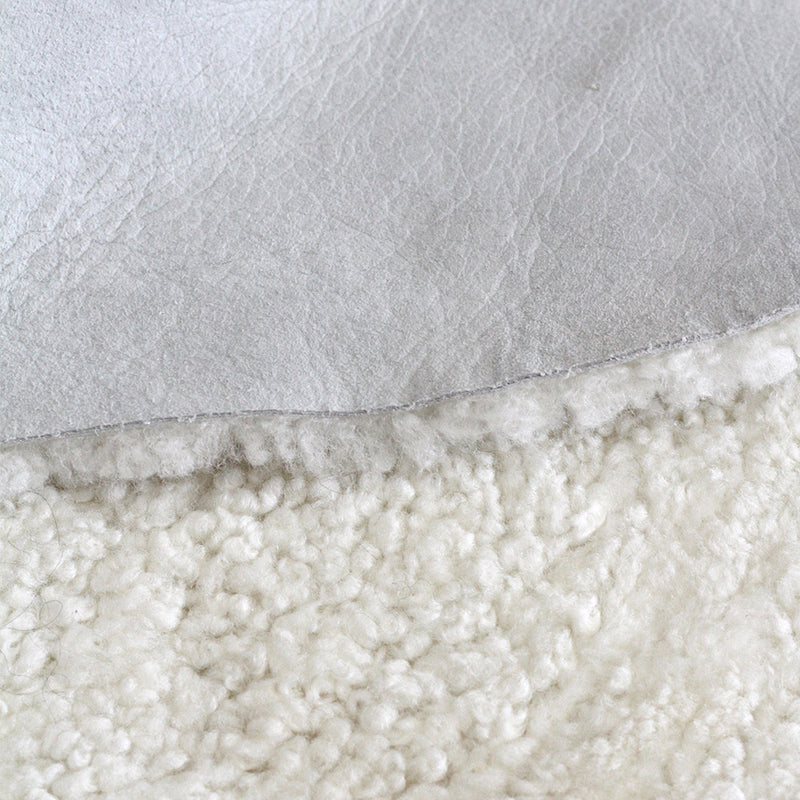 New Zealand Short Curly Wool Sheepskin Rug - Ivory