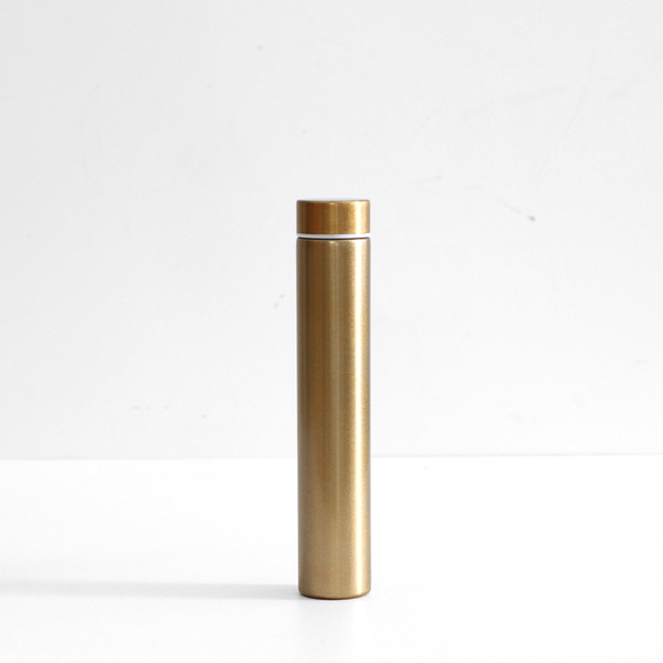 Cylinder Drink Bottle - Gold
