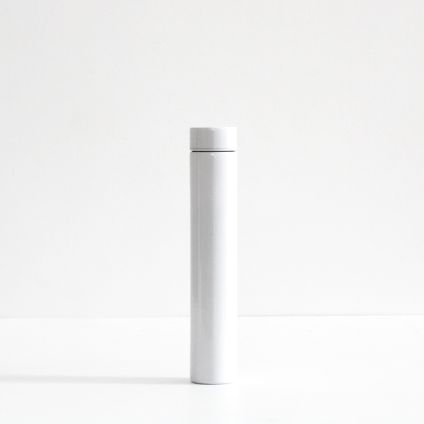 Cylinder Drink Bottle - Ice White