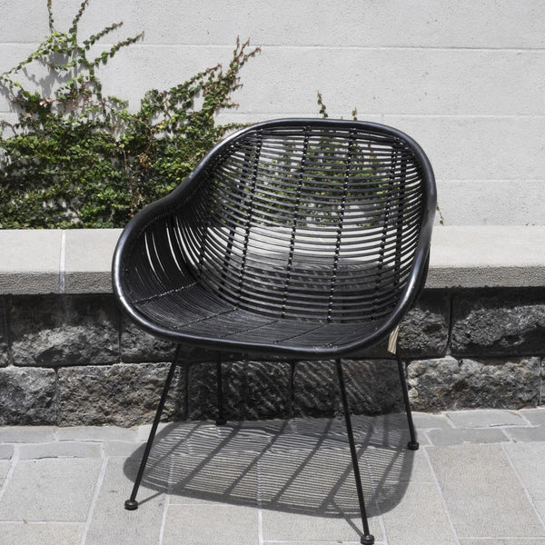 Retro Armchair - Black