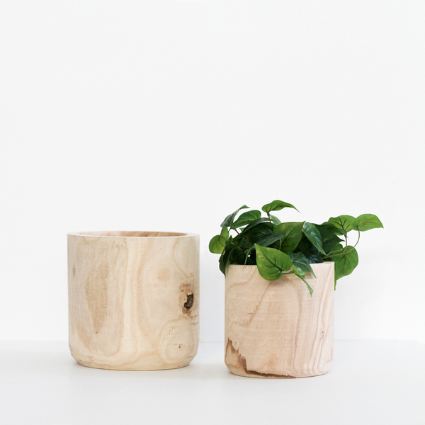 Dansk Cylinder Pot - Natural