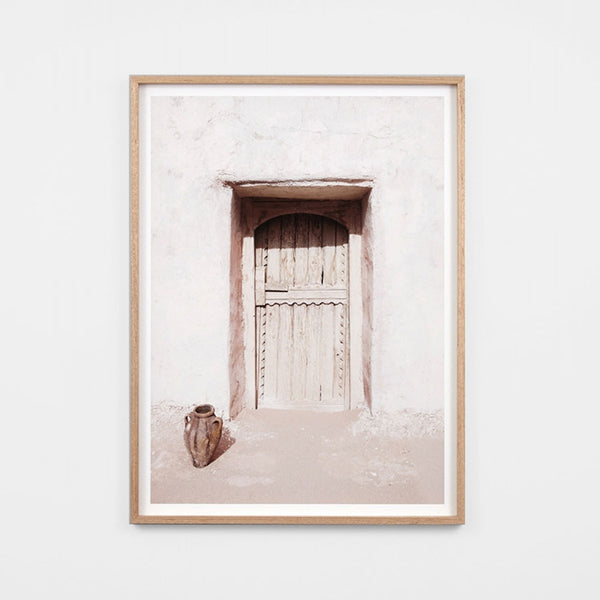 Desert Door Framed Art