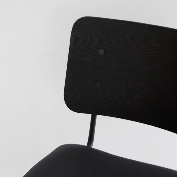 Douglas Retro Dining Chair - Black