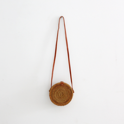 Echo Rattan Bag - Natural