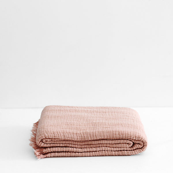 Enes Bedcover - Mink/Cantaloupe