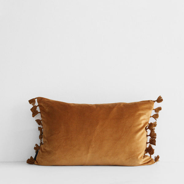 Esta Velvet Cushion - Saddle