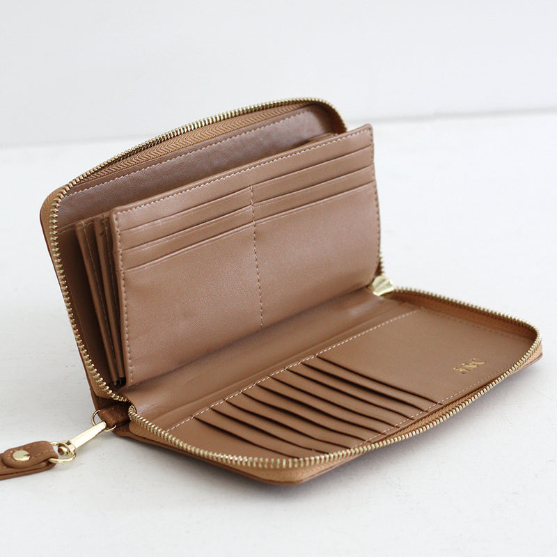 The Everyday Leather Wallet- Tan