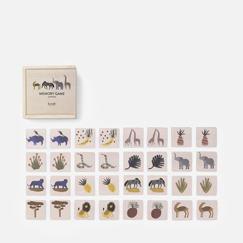 Safari Memory Game