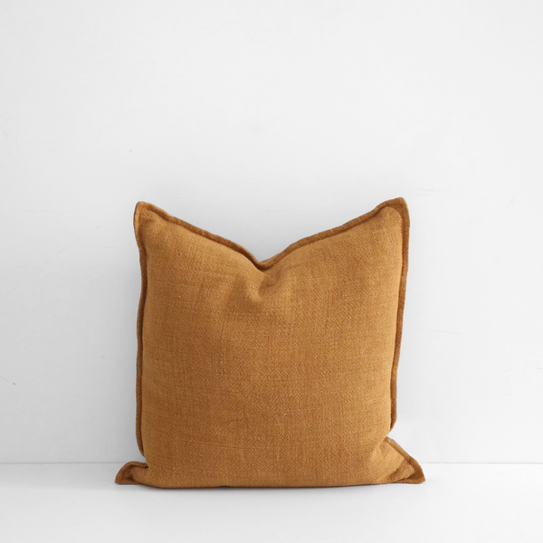 Flaxmill Cushion - Nutmeg