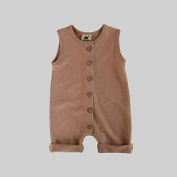Fleece Jumpsuit - Fawn
