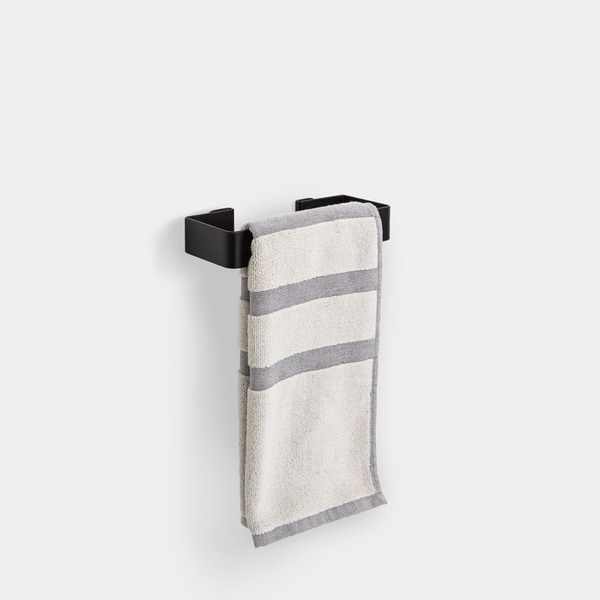 Fold Hand Towel Holder - Black