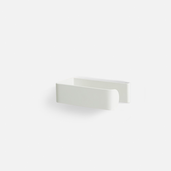 Fold Toilet Roll Holder - White