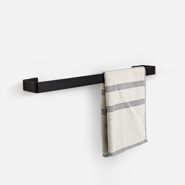 Fold Towel Holder - Black