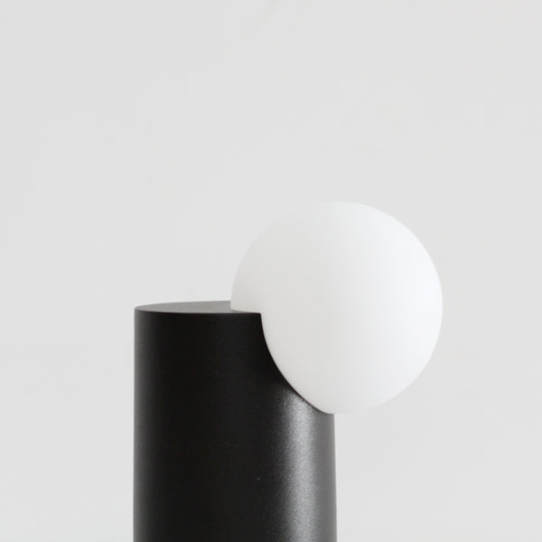 Form Light - Cylinder, Black