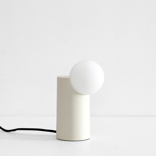 Form Light - Cylinder, White