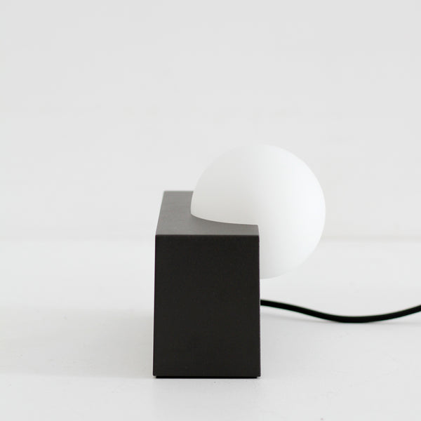 Form Light - Rectangle, Black